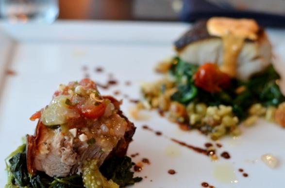 Pig Roast and Wild Ivory King Salmon
