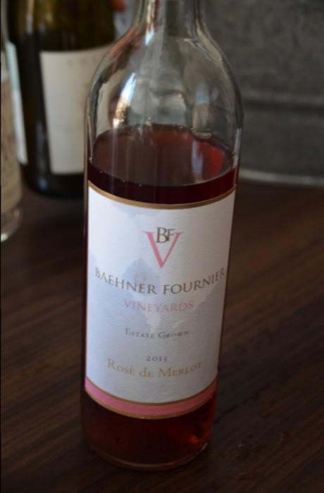 Baehner Fournier Rose Merlot