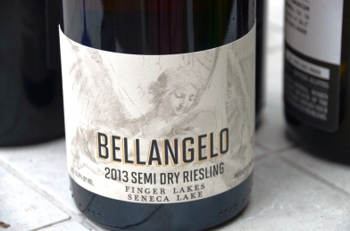 Villa Bellangelo Semi-dry Riesling 2013