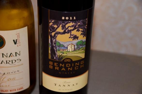 Bending Branch Winery Tannat