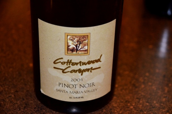 Cottonwood Canyon Pinot Noir