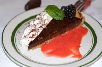 Chocolate Tart with Fresh Fruit
