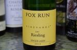 Fox Run Riesling Finger Lakes