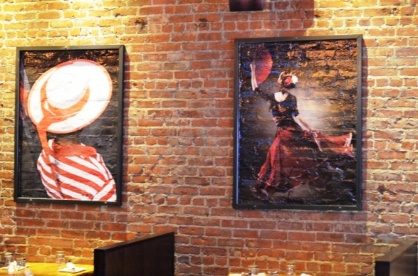 Paintings at Gastro Bar