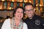 Linda Kavanagh and Chef Fernando Gomez