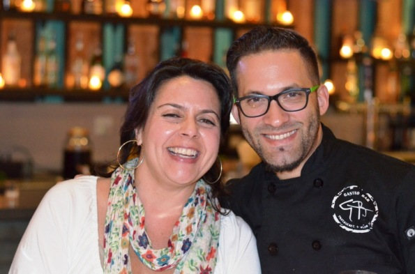 Linda Kavanagh and Chef Fernando Gomez