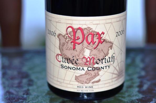 Pax Cuvée Moriah Sonoma County