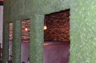 Washington Prime Wall with greens