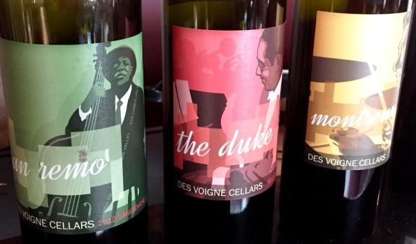 Des Voigne Cellars wines