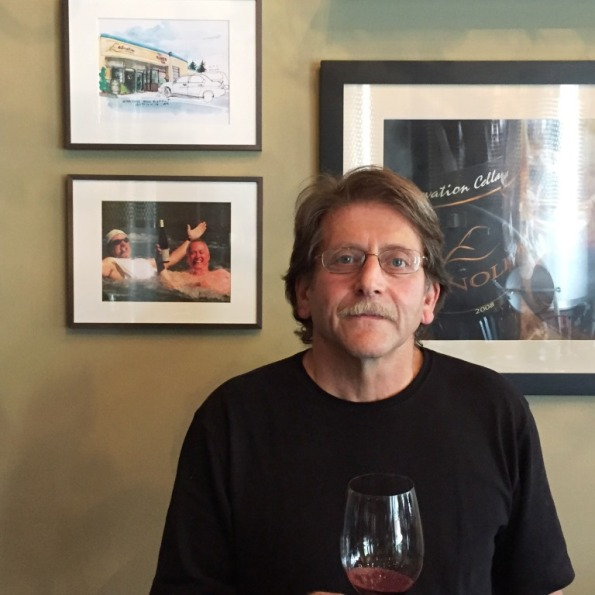 Steve Stuart, winemaker and owner at Elevation Cellars