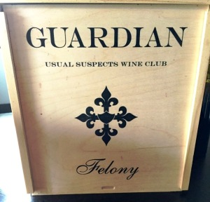 Guardian Cellars Felony Uusal Suspects Wine Club