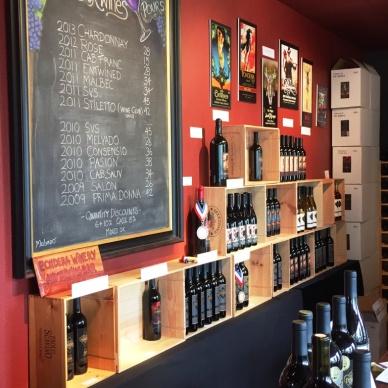 Pondera Winery Tasting Room