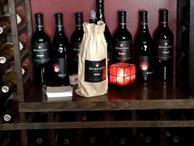 Sparkman Cellars Mystery wine