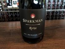 Sparkman Cellars Ruckus Syrah