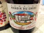 Beaujolais Nouveau Domaine Manoir duCarra