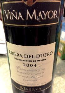 2004 Viña Mayor Ribera del Duero