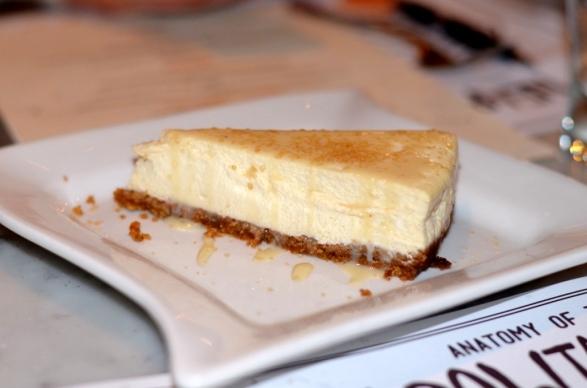 Brick+ Wood Cheesecake