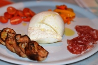 Brick+Wood Burrata cut