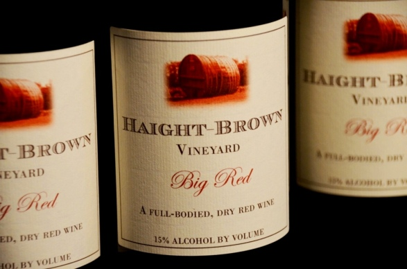 Haight-Brown Vineyards Big Red
