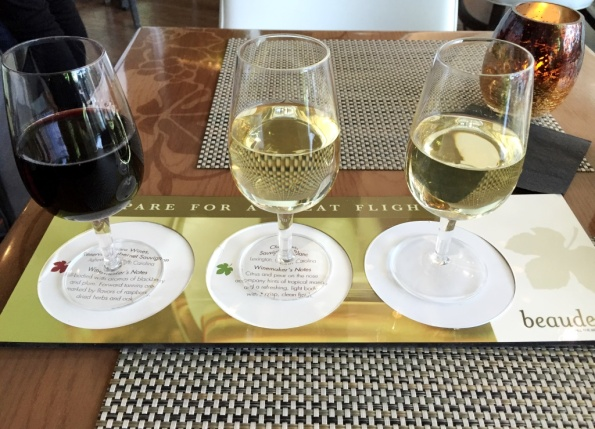 North Carolina Tasting flight