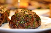 Herb-encrusted Steak