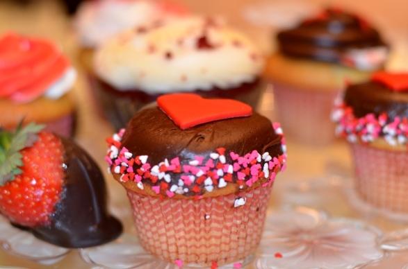 Valentine's Day capcake