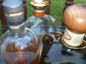 Cognac scotch tequila