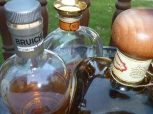 Cognac scotch tequila