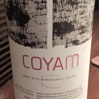 Emiliana Coyam Chile Bidynamic Grapes