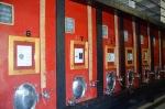 Fermentation tanks at Quinta doTedo
