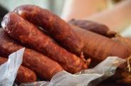 sausages at Presunteca
