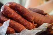 sausages at Presunteca