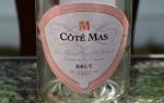 NV Paul Mas Cote Mas Cremant de Limoux Brut Rose, Languedoc-Roussillon, France