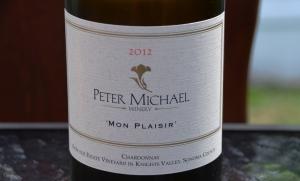 Peter Michael Chardonnay