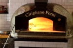 Pizza oven at Amore Restaurant