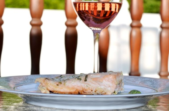 Salmon and Rosé