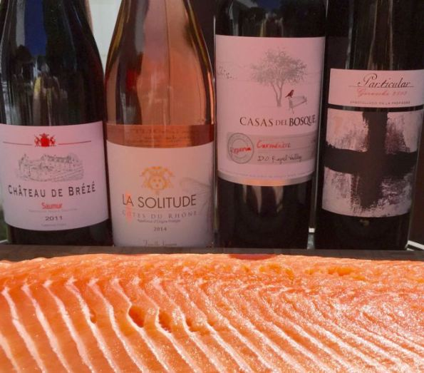 Salmon & Wines | The Dinner Party Collective