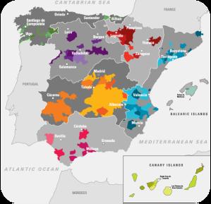Wine Regions of Spain