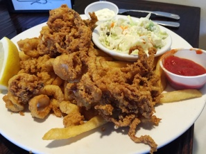 Fried Calamari at Skipper