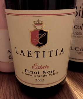 Laetitia Estate Pinot Noir Arroyo Grande Valley