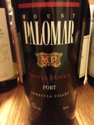 Mount Palomar Limited Reserve Port