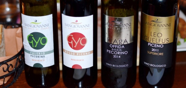 Vini Sangiovanni selection