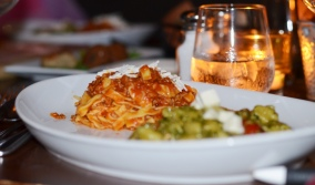 Pasta dishes at Cotto