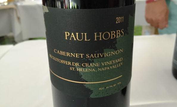 Paul Hobbs Cabernet Sauvignon Becjksrtoffer Dr Crane Vineyard
