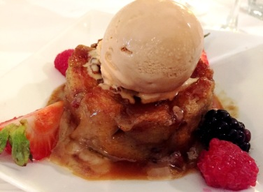 Bread pudding at Tabard Inn