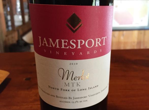 Jamesport Vineyards Merlot