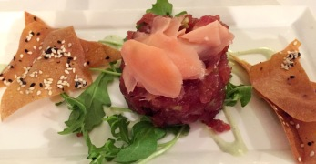 Tuna Tartar at Tabard Inn