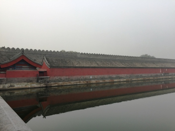 and one more view of the side wall - Forbidden City