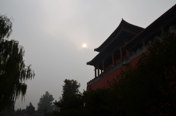 And the sun shined above Forbidden City by the time I was leaving