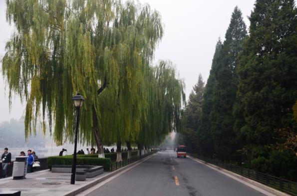Walk towards the entrance to the Forbidden City